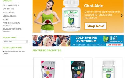 Ulan Nutritional Systems Launches New Online Store