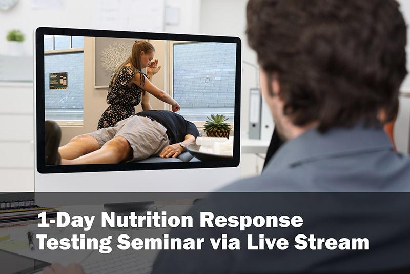 Nutrition response testing workshop