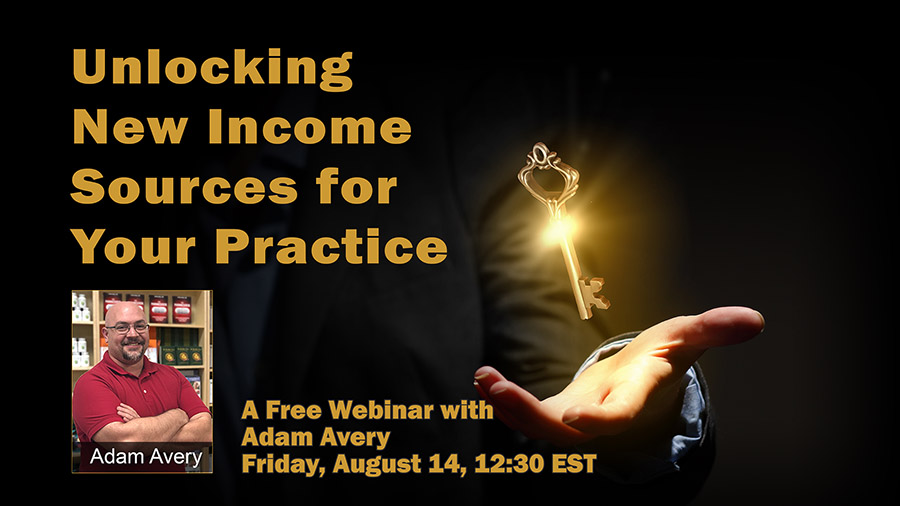 Webinar: Unlocking New Income Sources for Your Practice