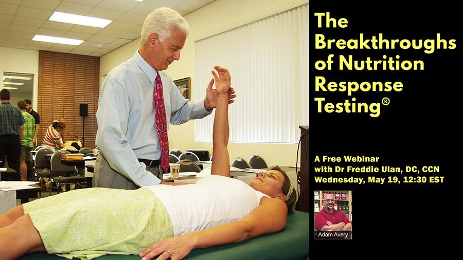 Freddie webinar nutrition response testing